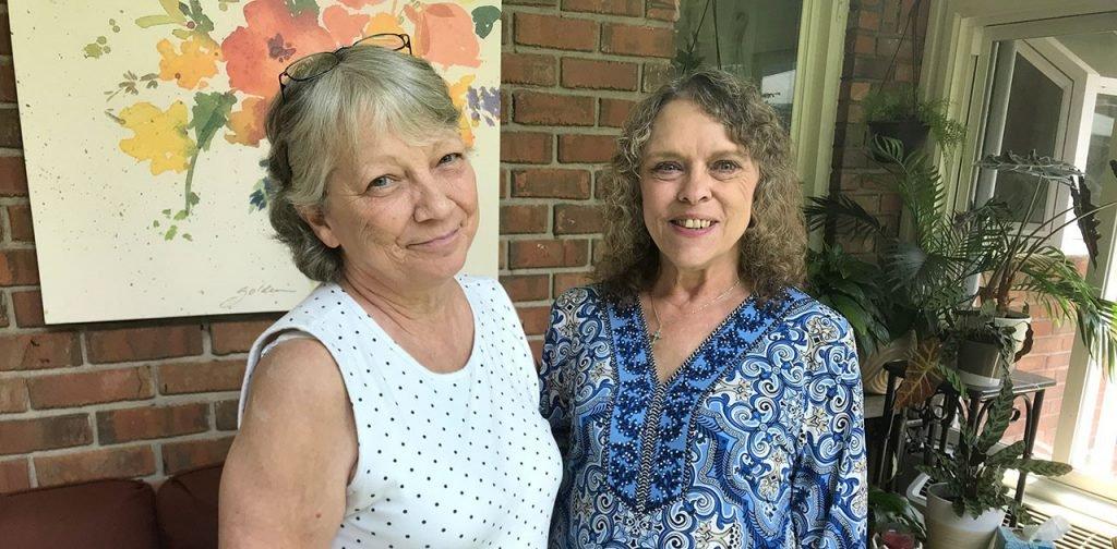 Debbie Aschemeier and Beth Hogan